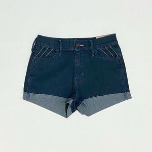 blue hollister denim shorts